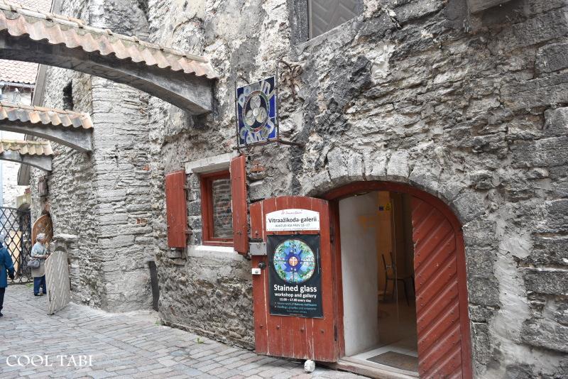 聖カタリーナの小路(Katariina kaik)St. Catherine's passage