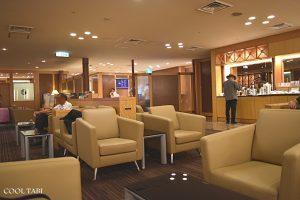 関西国際空港大韓航空ラウンジ(KAL BUSINESS CLASS LOUNGE)